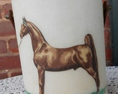 Horse Ice Bucket / Bacova Guild Ice Bucket / Bacova Guild Horse Ice Bucket / Bacova Guild