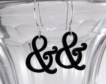 Mini Harrington Ampersand Earrings