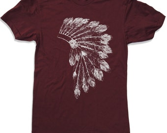 Mens HEADDRESS t shirt s m l xl xxl (+ Color Options)