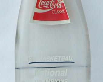 DUKE Univ. 1991 Vintage Coke Bottle Slumped Spoon Rest
