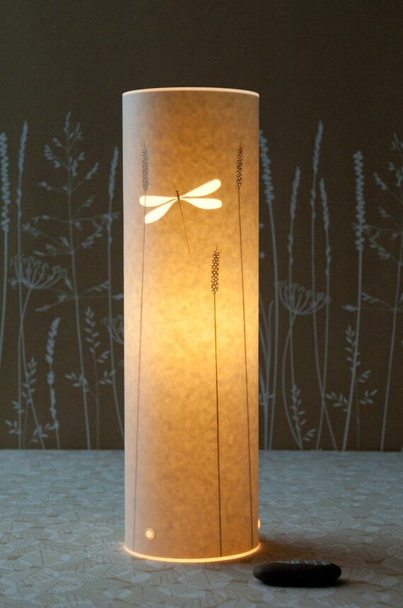Tall Dragonfly lamp