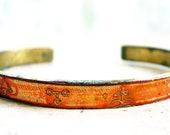 Orange Alchemy Bracelet