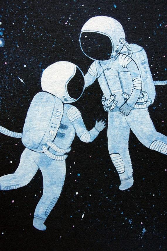 astronaut space love - photo #3