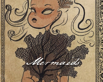 Mermaid Sketchbook  - A collection of mermaid drawings