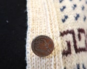 The Coin Button Winter Cardigan