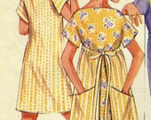 Vintage Mcalls 2483 UNCUT Misses Wrap and Tie Dress in Two Lengths Sewing Pattern One Size