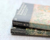 Penguin  Poetry, Vintage Book Set - elitasvintage