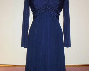 Vintage Semiformal Dress by MISS ELLIETTE of California