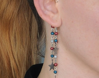 Captain America-Inspired Avengers-Themed Ear Cuff