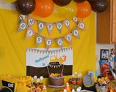 Construction Birthday Party Pack- Print Your Own