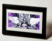 "Etana The Silver Crowned Queen Fine Art Print 5.5"" x11"""