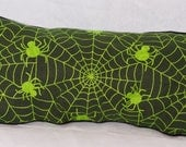 Green Spider Pillow - Home Decor