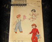 1950's Child's Butterick anitque sewing pattern, 6176
