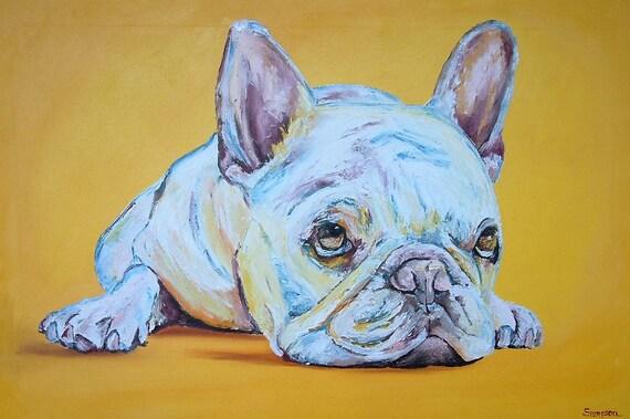 Custom commission Original oil painting of your pet, dog, cat, bird