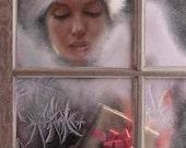 Marilyn Monroe Vintage Look Christmas Window Hollywood Art Print (36)