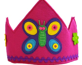 Flutter the Butterfly Crown