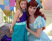 ARIEL Inspired Dress from the Little Mermaid