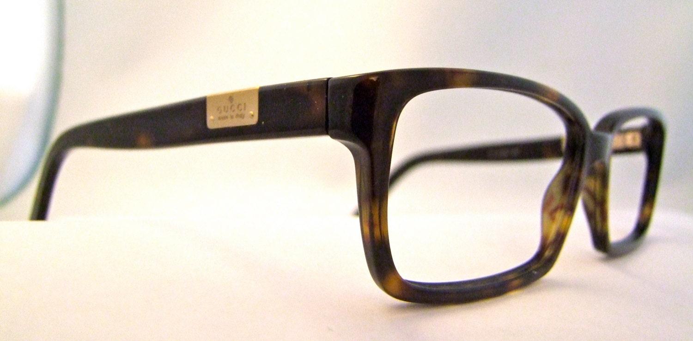 Gucci Eyeglass Frames Mens : Mens GUCCI Vintage Eyeglass Frames Tortoiseshell by ...