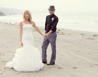 Custom Designed Mermaid Wedding Dress