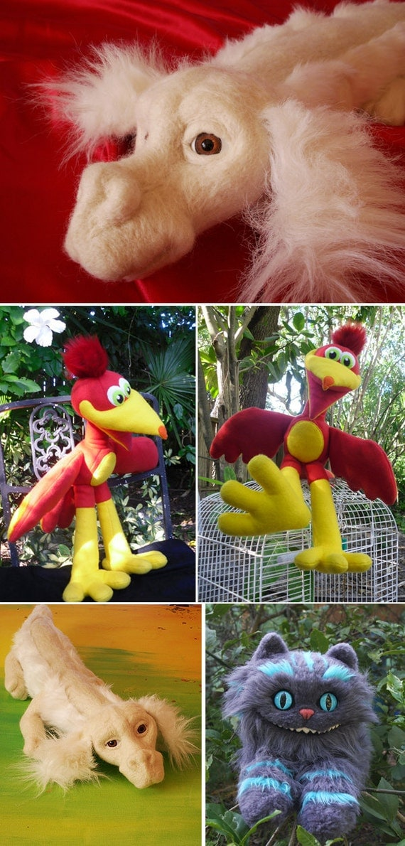 Custom Made Plush Toy of ANY Creature — LAST CHANCE for holiday orders