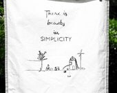 "Tea towels - ""WisdomTeaTowels""  - Free shipping"