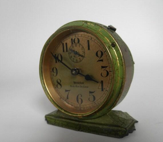 Vintage Westclox Baby Ben De Luxe Clock