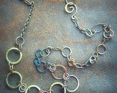 Connections Cycle Necklace (ON SALE)/ RESERVED