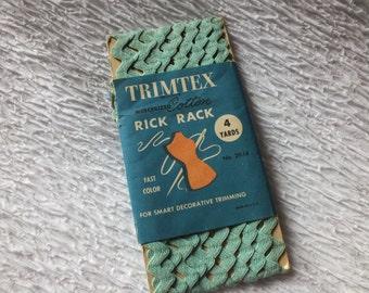 Vintage Rick Rack Trim Assorted Colors