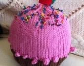 Cupcake Hat Size 12-24 months child
