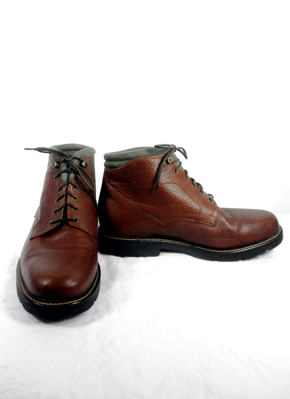 Bison Leather High End Chukka Boot by H.S. Trask Men's