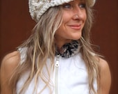 Cream SLOUCHY beanie crochet Slouch Visor hat Brimmed Hat Womens Fashion White Beanie NEWSBOY hat Bohemian Hippie Beanie with brim GPyoga