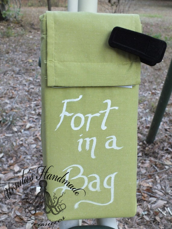 Fort in a Bag, indoor and outdoor imagination play.  Play fort. Children's toy, Cape, dress up, wings