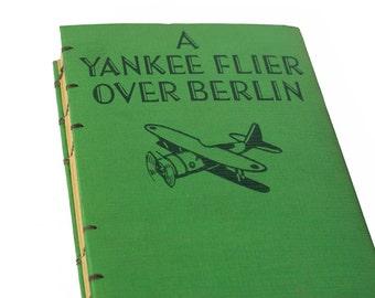 1944 YANKEE FLIER Vintage Notebook Journal