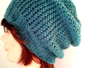 stitch toque knitting pattern free mohair look hat knitting pattern