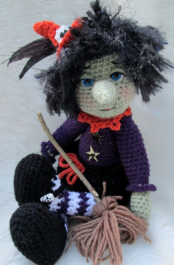 Witch Crochet Pattern on Etsy