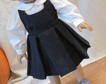 Navy 1940s Uniform Jumper set for 18 inch dolls