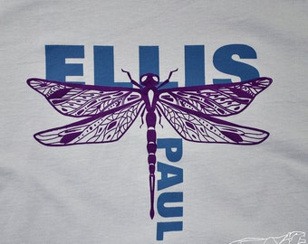 DRAGONFLY - Unisex - ELLIS PAUL Tshirt from Album The Day After Everything Changed - Ringspun Cotton Tee