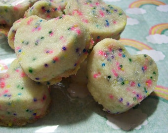 RAINBOW BrITES - THE BEST Shortbread Cookies - 24 cookies