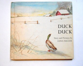 Duck Duck, a Vintage Children's Book, Illustrated