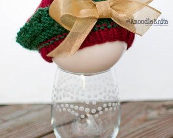 Christmas Beret, Newborn Knit Hat, Baby Girl Hats, Newborn Baby Hat, Knit Newborn Hat, Baby Bow Hat, Newborn Photography Prop