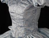 Cinderella Blue/Silver Swirl Custom Costume