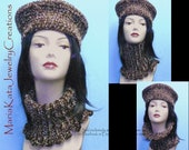 Double yarn Hat and Neck warmer. So elegant but yet practical.