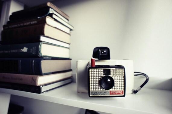 Polaroid Camera Model 20 Swinger  - Display