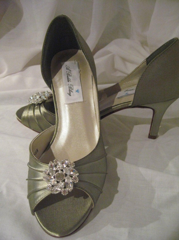 Wedding Shoes Sage Green Bridal Shoes Sage Green Wedding Shoes