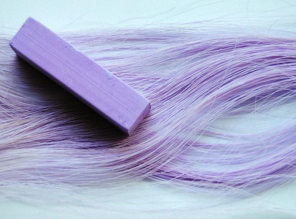 Lilac Purple Hair Chalk Single Stick Tint Purple Dip
