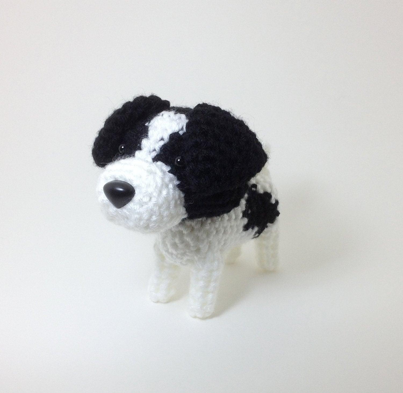 Jack Russell Terrier Plush Stuffed Animal Amigurumi by ...
