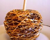 Giant PEANUT BUTTER Gourmet Caramel Apple