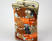 iPhone 6S Case Cats Fabric, iPhone 6S Plus Case, iPod Case, iPod Touch Case, Cell Phone Case, Cotton Fabric