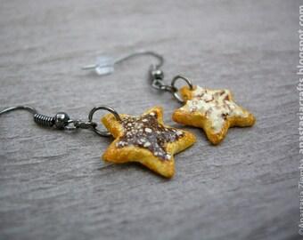 Sugar Star Cookies Earrings