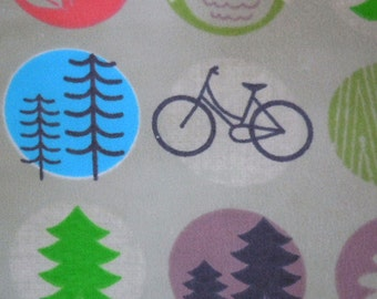 The Great Outdoors - Flannel Fabric - BTY